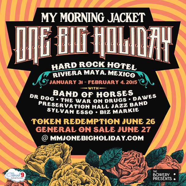 My Morning Jacket Announce One Big Holiday 2015