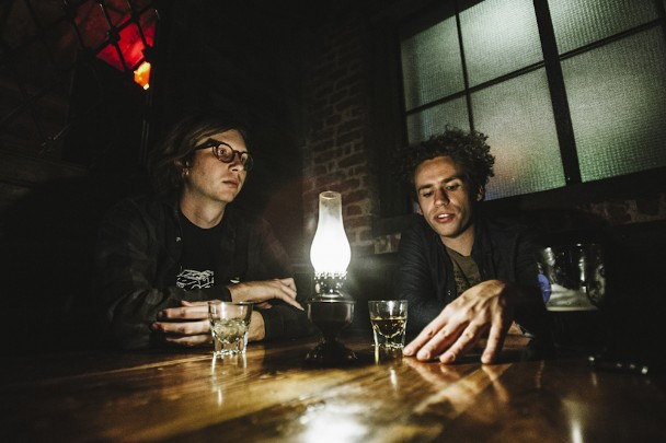 Austin Brown and Andrew Savage of Parquet Courts by Ryan Muir