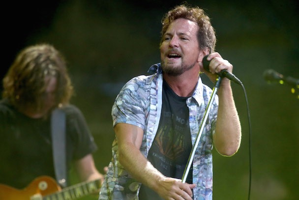 "Watch Pearl Jam Cover Some Of ""Let It Go"" From Frozen In Italy"