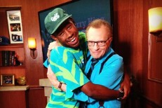 Tyler, The Creator <3 Larry King