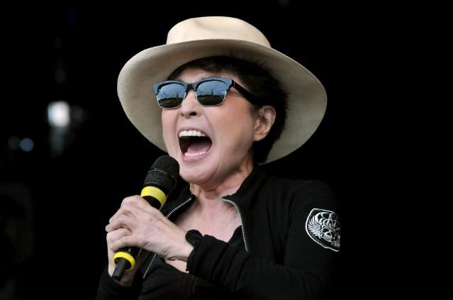 Yoko Ono @ Glastonbury Festival