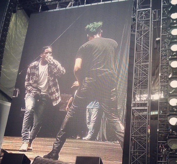ASAP Rocky and Danny Brown