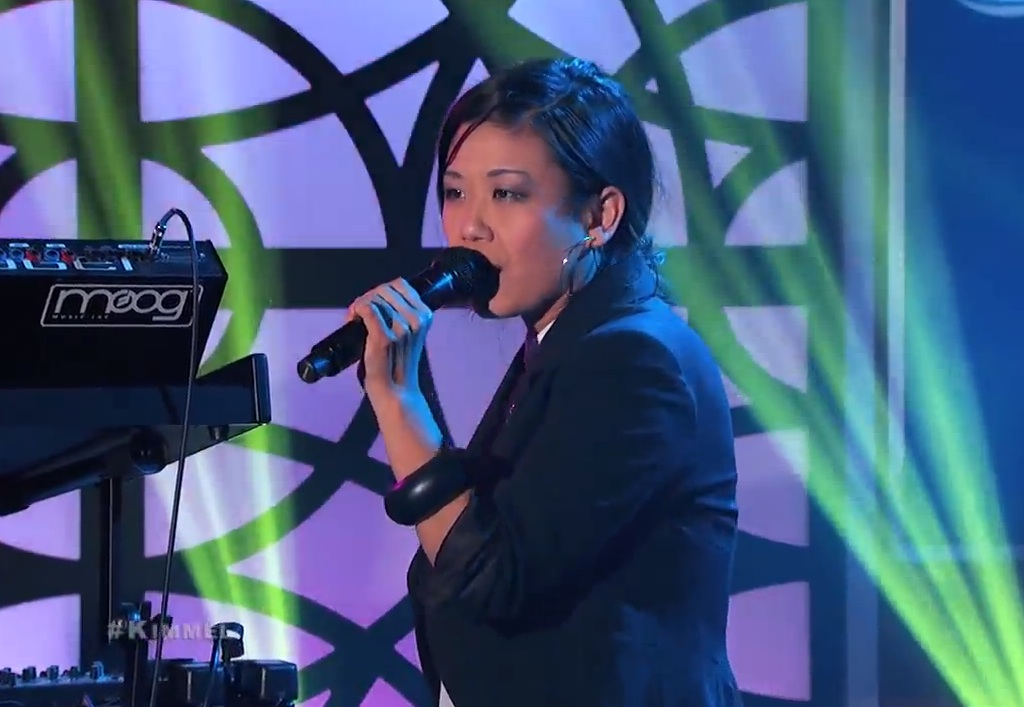 Watch Classixx Play <em>Kimmel</em> With Nancy Whang