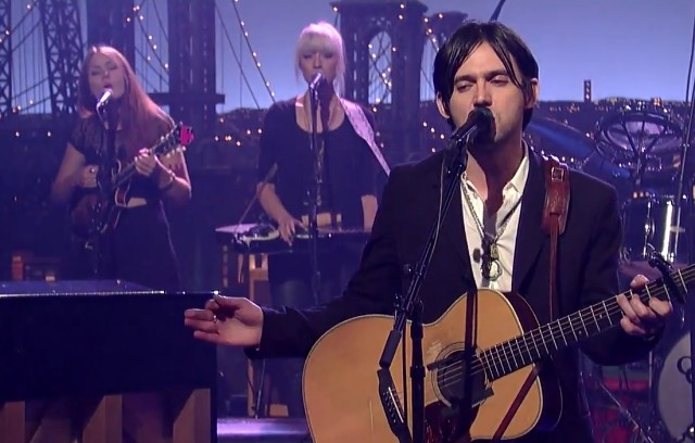 Conor Oberst on Letterman
