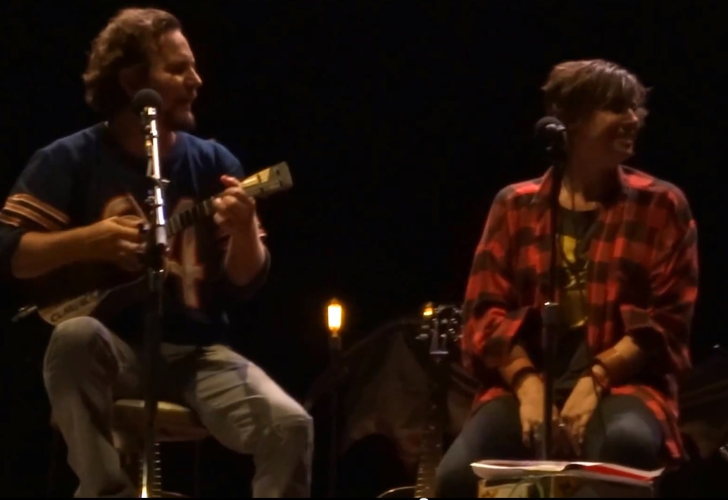 Eddie Vedder and Cat Power