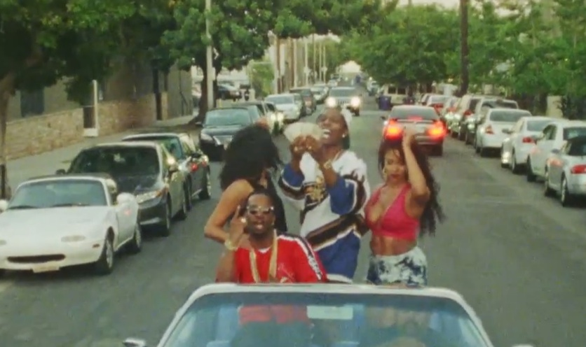 "Juicy J – ""Scholarship"" (Feat. A$AP Rocky) Video"