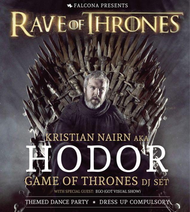 """Hodor Announces """"Rave Of Thrones"""" DJ Tour"""