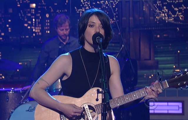Sharon Van Etten on Letterman