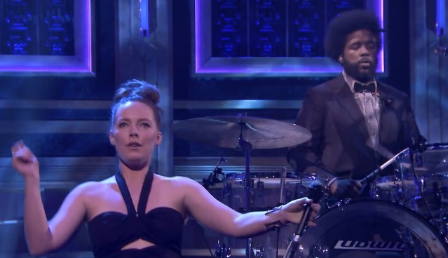 Sylvan Esso on Fallon