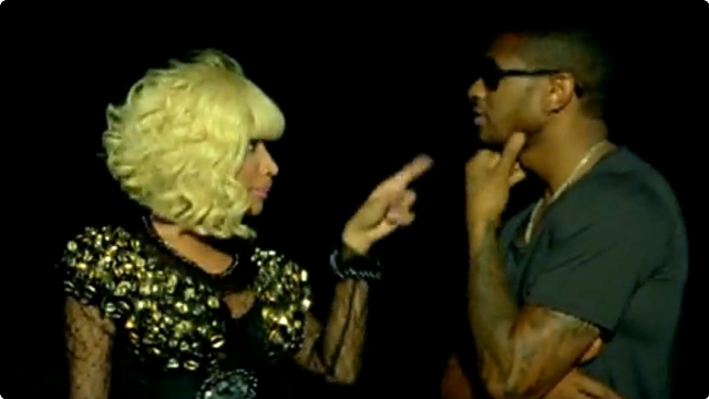 Usher and Nicki Minaj
