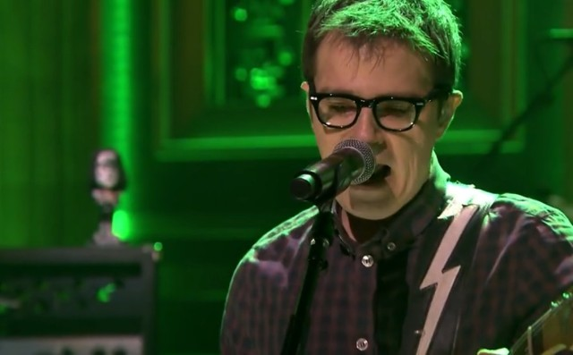 Weezer on The Tonight Show