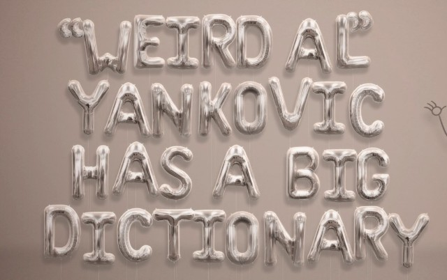 "Weird Al Yankovic - ""Word Crimes"""
