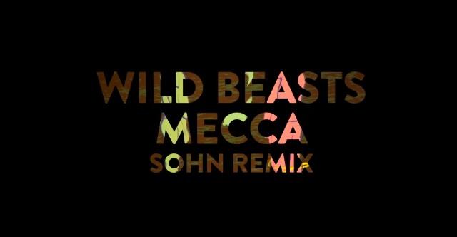 "Wild Beasts - ""Mecca (Sohn Remix)"""