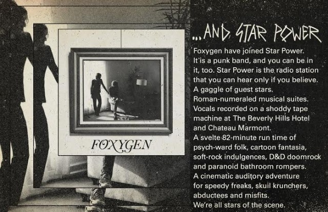 Foxygen - ...And Star Power Promo Image