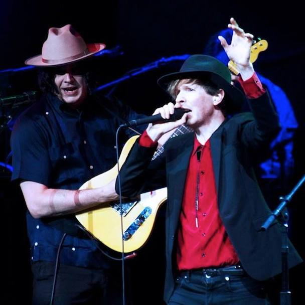 "Watch Jack White Join Beck On ""Loser,"" ""Pay No Mind,"" & ""Where It's At"" In Providence"