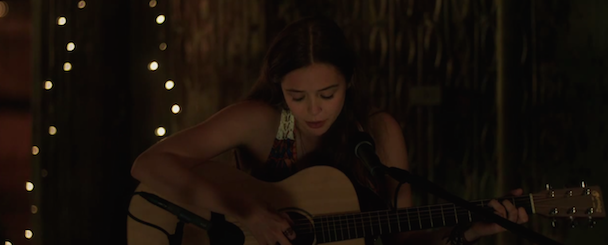 Watch Elizabeth Olsen Cover Rilo Kiley In A Clip From Very Good Girls