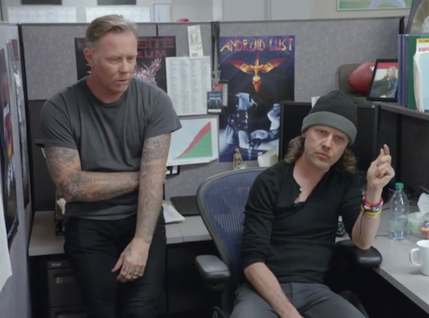 Metallica SportsCenter Promo