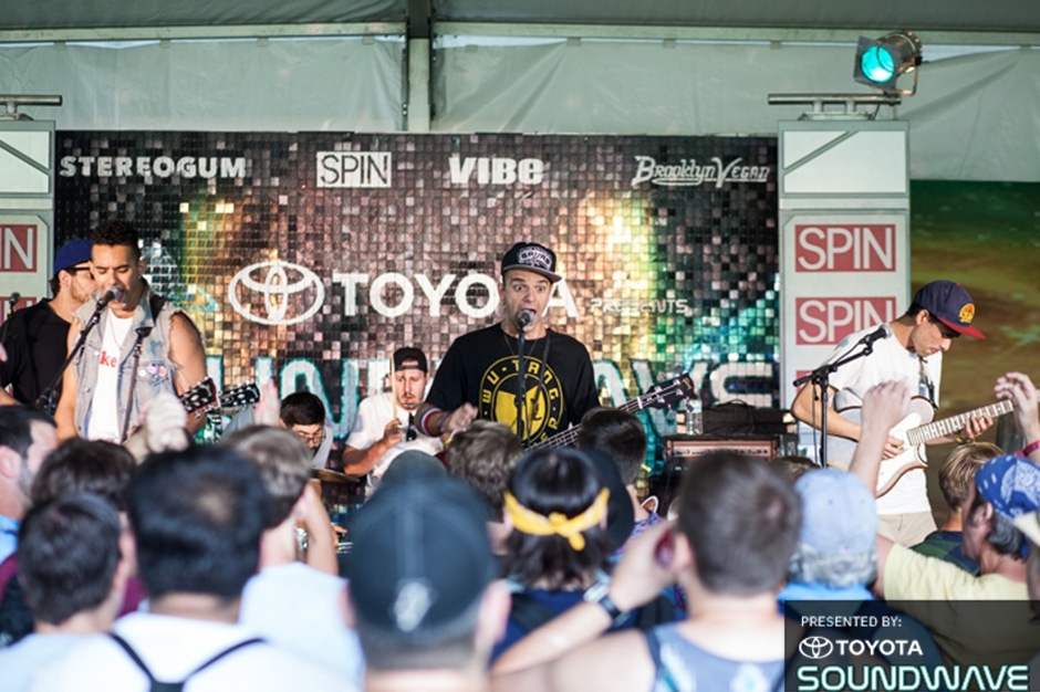 Stereogum x Toyota Presents Soundwave At Outside Lands '14: Christopher Owens, Mikal Cronin, Tycho, Wayne Coyne