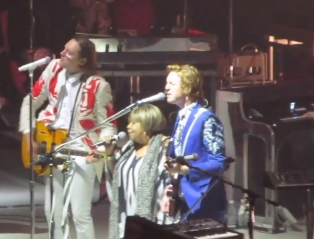 Arcade Fire and Mavis Staples in Chicago