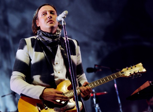 Arcade Fire in Inglewood, via Getty