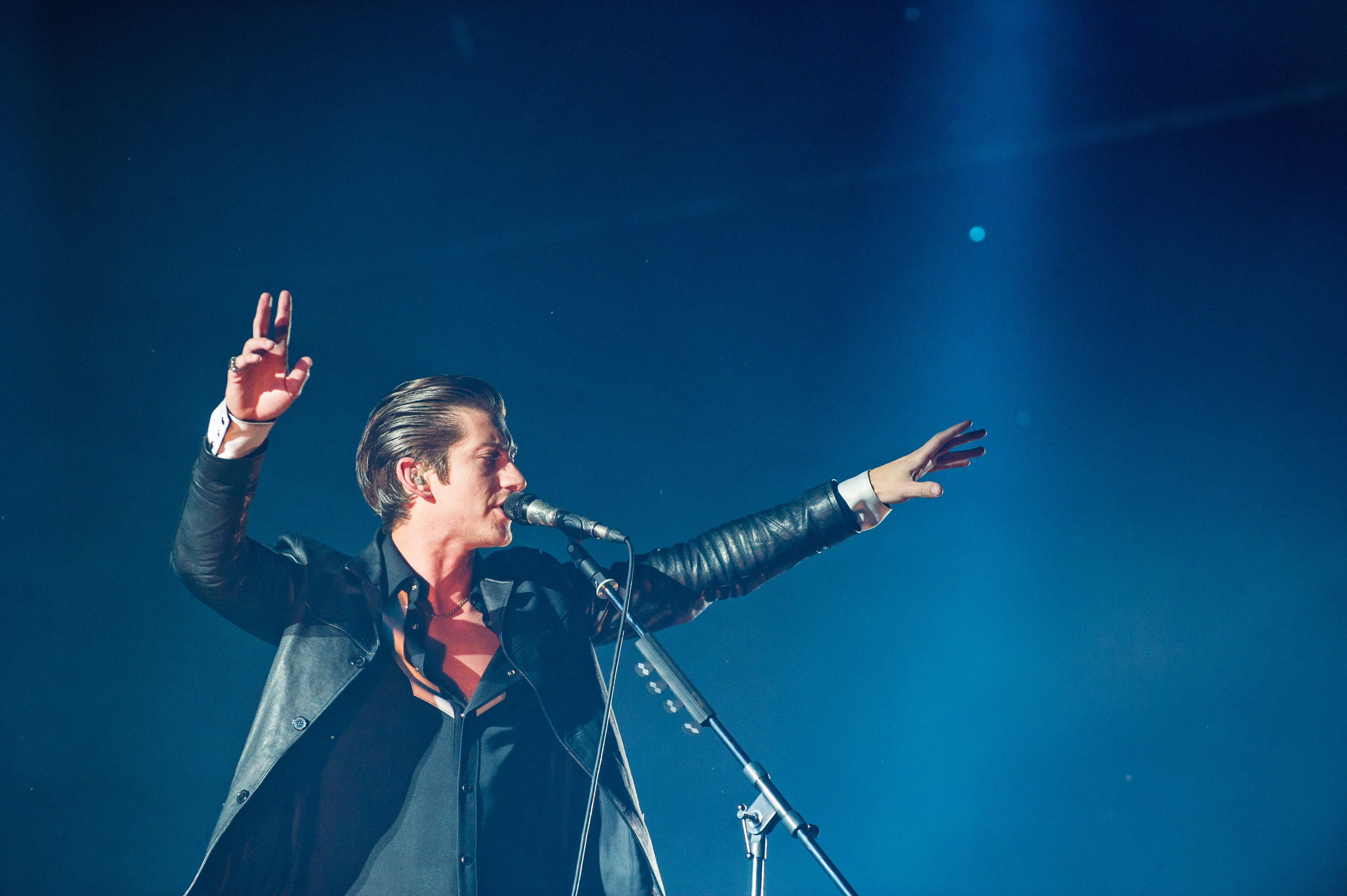 Arctic Monkeys at Osheaga, via Getty