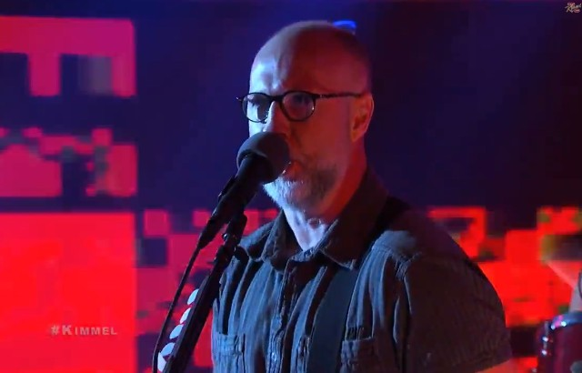 Bob Mould on Kimmel