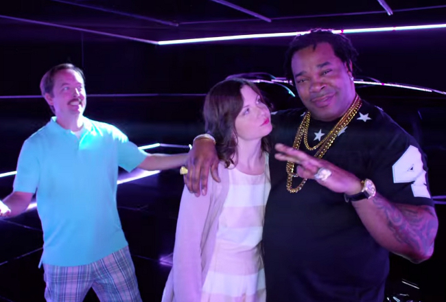 "The Internet Is Upset With Busta Rhymes' Cameo In ""Swagger Wagon"" Car Commercial"