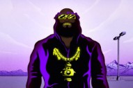 Watch Flying Lotus' Captain Murphy Cartoon