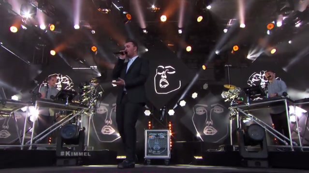 Disclosure and Sam Smith on Kimmel
