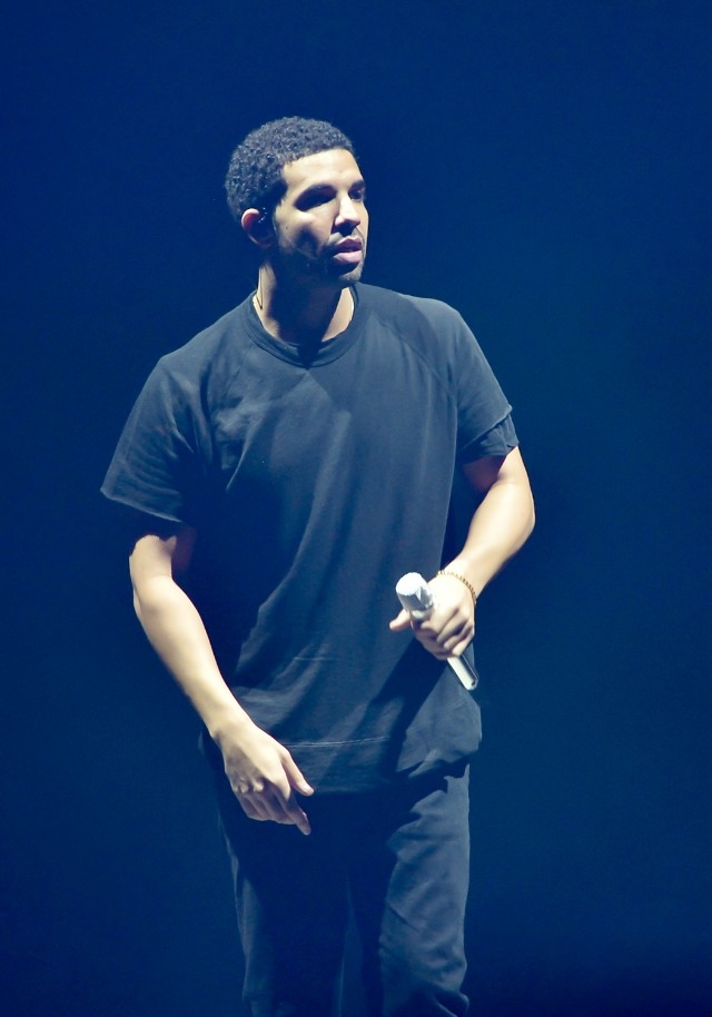 Drake at OVO Fest, via Getty