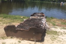 Gwar-B-Q boat remains