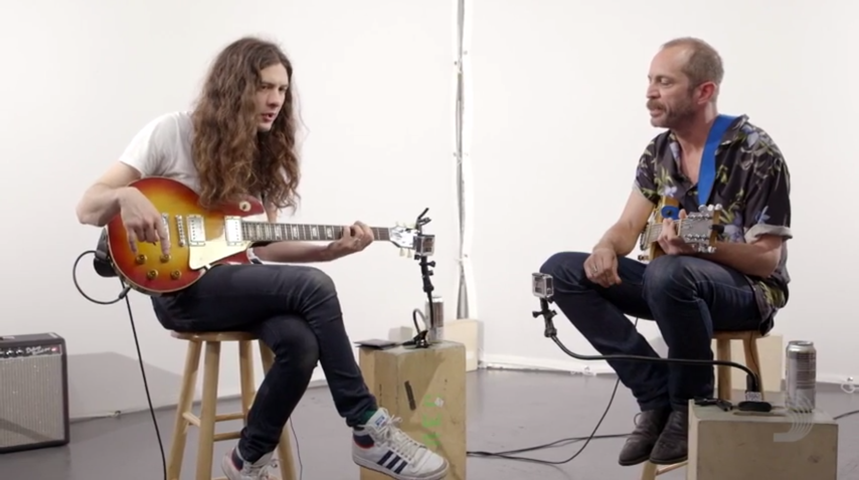 Watch Matt Sweeney And Kurt Vile Share Guitar Techniques
