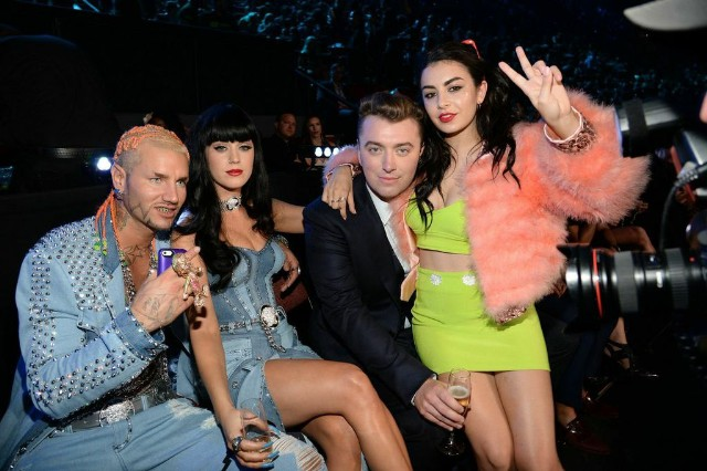 Riff Raff, Katy Perry, Sam Smith, Charli XCX @ The VMAs 2014