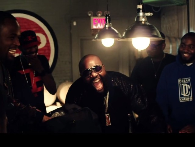 "Rick Ross - ""What A Shame"" video"