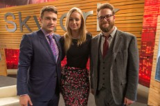 James Franco, Iggy Azalea, & Seth Rogen