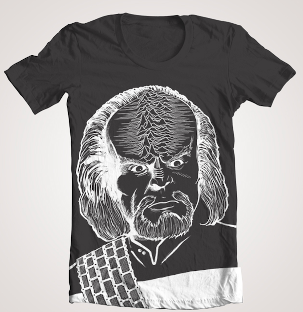 Here&#8217;s A Joy Division x <em>Star Trek</em> T-Shirt For The Post-Punk/Sci-Fi Fan In Your Life