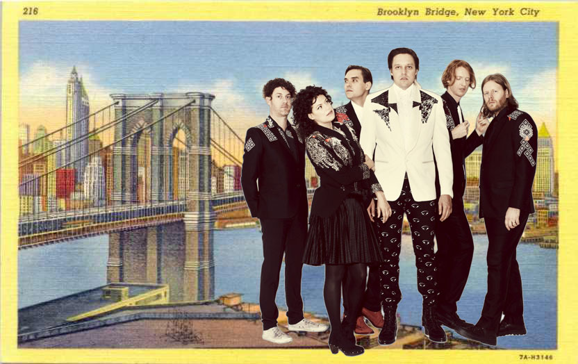 Who Should Arcade Fire Cover In Brooklyn?