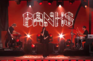 Watch Banks Make Her TV Debut On <em>Kimmel</em>