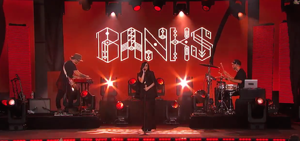 Watch Banks Make Her TV Debut On Kimmel