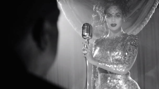 "Watch Beyoncé Sing Nancy Sinatra's ""Bang Bang"" To Jay Z In HBO's On the Run Trailer"