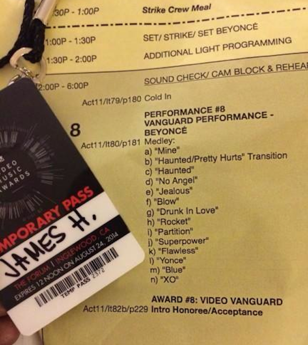 Is Beyoncé Performing A Medley Of Her Self-Titled Album At The VMAs?