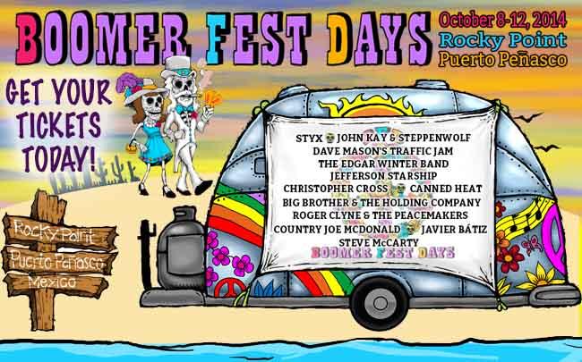 Boomers Finally Get Their Own Music Festival: Styx, Steppenwolf, Golf