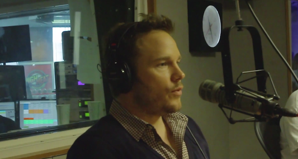 "Watch Chris Pratt Flawlessly Rap Dre's ""Forgot About Dre"" Much To DJ's Surprise"