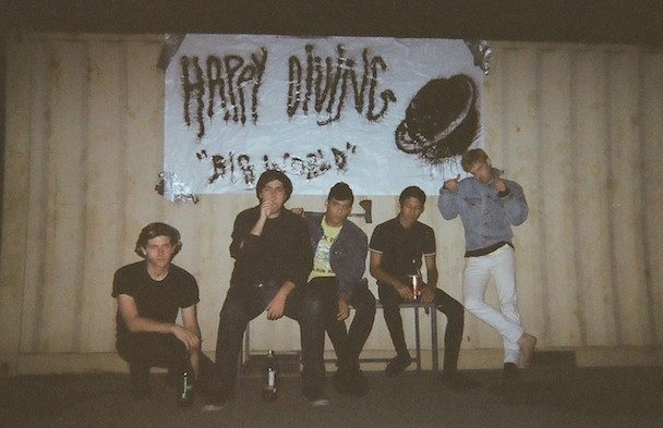 "Happy Diving - ""Weird Dream"" (Stereogum Premiere)"