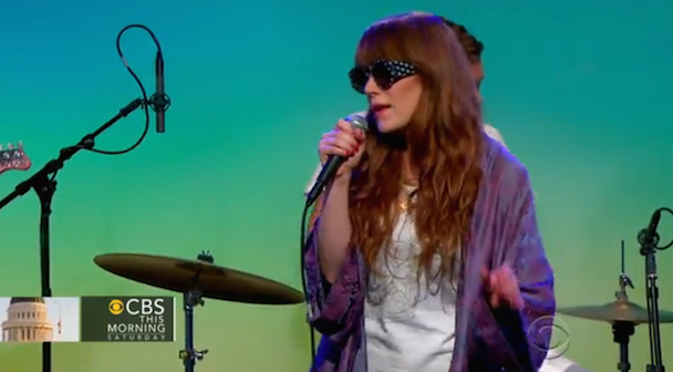 Watch Jenny Lewis Play CBS This Morning