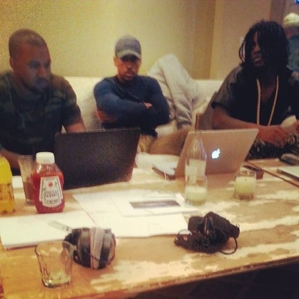 "Chief Keef Teases ""Nobody"" Feat. Kanye West"