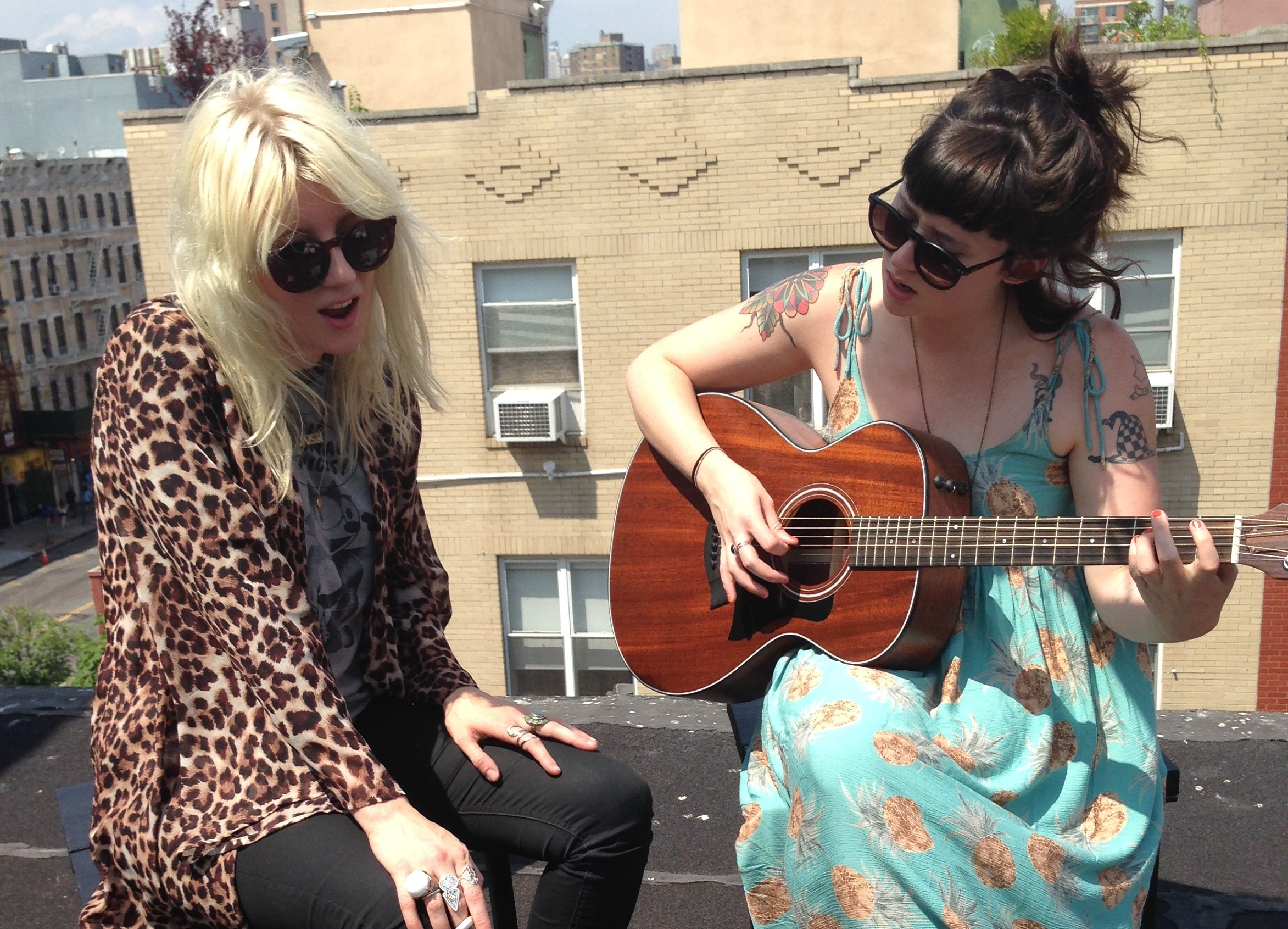 Watch Waxahatchee & White Lung Frontwomen Perform Together In An Acoustic Session