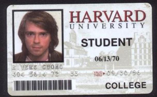 Rivers Cuomo - Harvard
