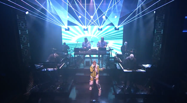 "Watch Röyksopp & Robyn Play ""Do It Again"" On Fallon"