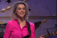Watch St. Vincent Play 8G Bandleader, Strand Of Oaks Perform On <em>Seth Meyers</em>